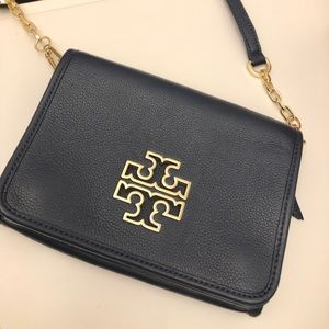 Tory Burch navy crossbody bag